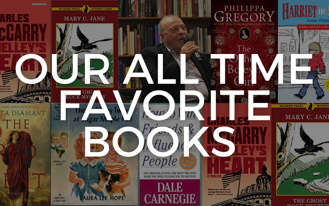 ALL TIME FAVORITE BOOKS